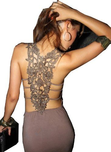 i want!!Evening Dresses, Fashion, Sexy Dresses, Hot Dress, Style, Lace Back, Cocktails Parties, Open Back, Back Details