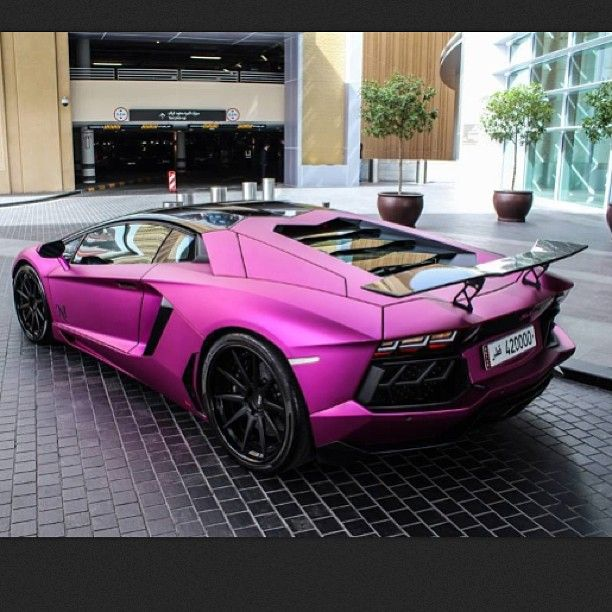 super galactic pink lamborghini aventador out of this world