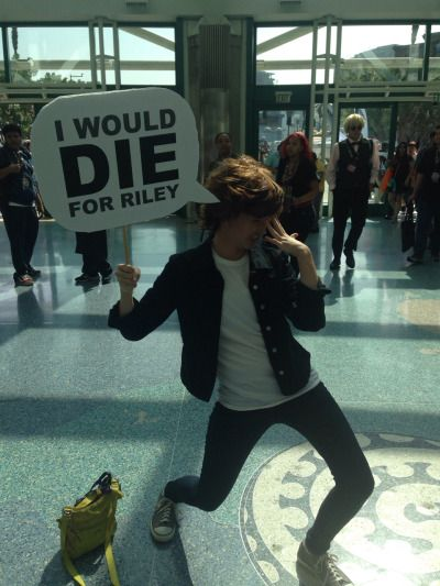 """""""I would DIE for Riley"""" Best thing I've ever seen ever. -Inside Out"""