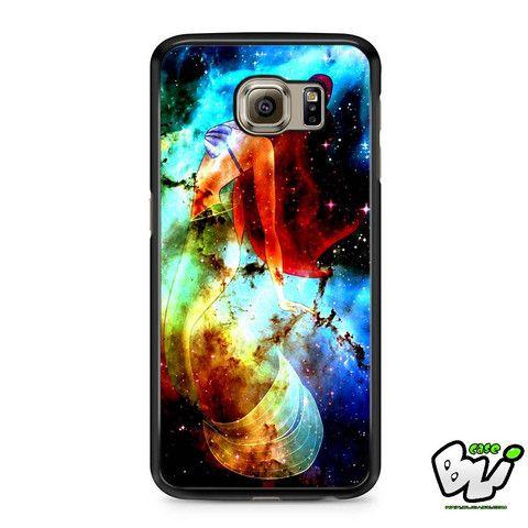 Ariel On Galaxy Nebula Samsung Galaxy S7 Edge Case