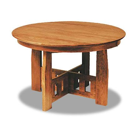Good Hill House Round Table , Dining Tables, Canal Dover Furniture, Mission  Furniture