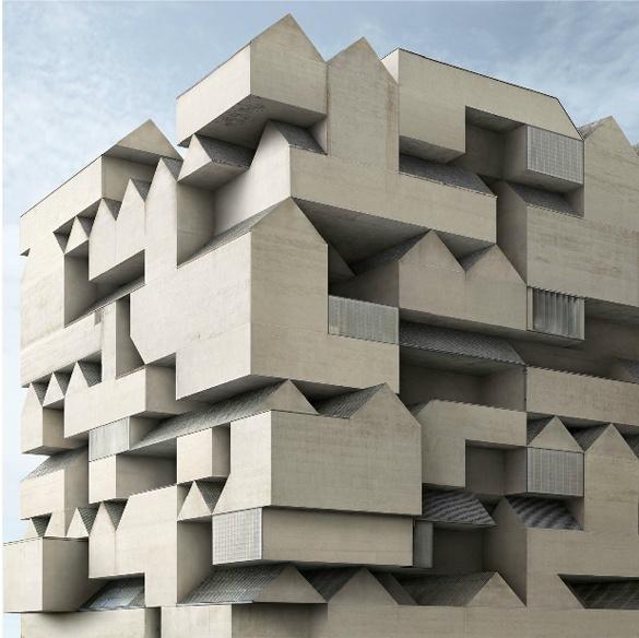 Filip Dujardin - Fictional Architecture
