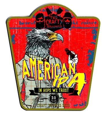 Two Crafty Brewers American IPA