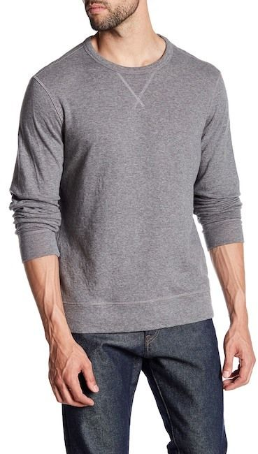 Jack Spade Double Face Crew Neck Sweater