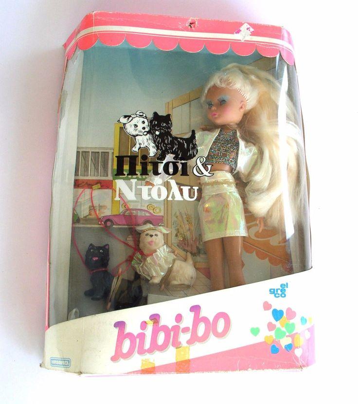 VINTAGE - 'BIBI-BO BARBIE ' PICCI & DOLLY - EL GRECO - GREECE TOYS | $149.9+17 listed bin
