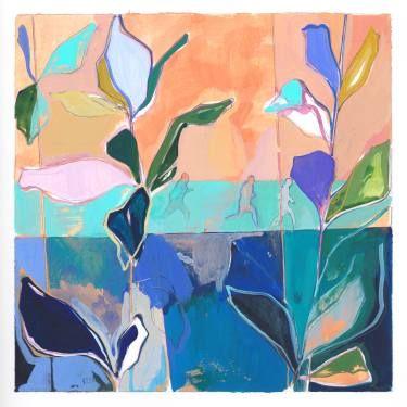 "Saatchi Art Artist Charlotte Evans; Painting, ""in stride  (framed)"" #art"