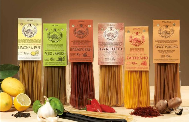 Italiaanse pasta's met kiem van de graankorrel