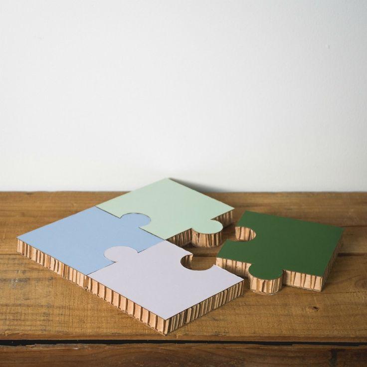 Form maker jigsaw coaster set cottage garden broken