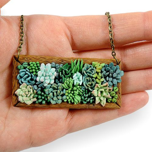 Polymer landscaping – Polymer Clay Daily