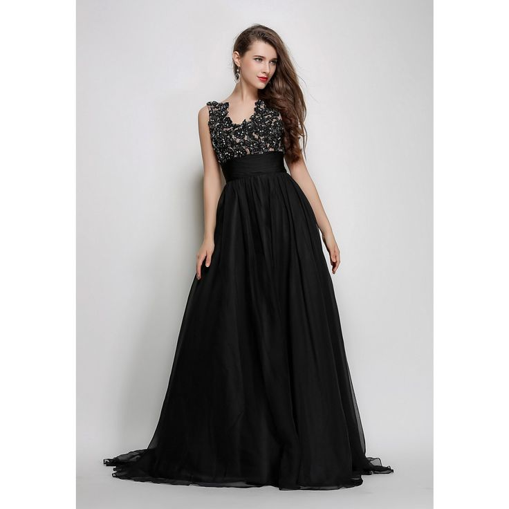 black-long-embroidered-bodice-prom-dress-winter-formal-gown-