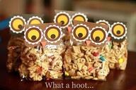 loooooove it.: Ideas, Gift, Treat Bags, Schools, Owl Snacks, Snacks Bags, Owl Treats Bags, Parties, Owl Bags