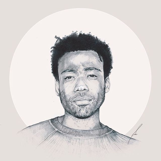 With your wayfarer shades, you drive me insane. I wanna hold hands and call you pet names. #fanart #childishgambino #donaldglover #atlanta #mcDJ #awakenmylove #hiphophead #hiphopculture #drawing #mechanicalpencil #graphite #portrait #fangirling #habologique #rapper #glassnoterecords #illustration #illustrate #draw #pencil