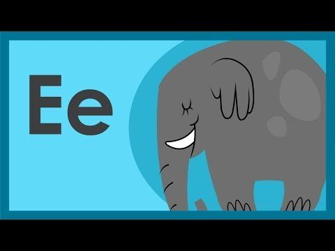 """▶ """"The Letter E Song"""" by ABCmouse.com - YouTube"""