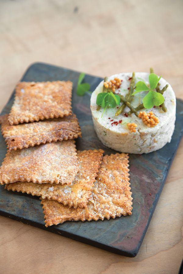 Smoked Bluefish Pâté with Hardtack Crackers Recipe | SAVEUR