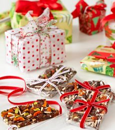 Cadbury Festive Fruit and Nut Chocolate Bark Recipe  Great gift idea for people at work