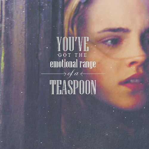 Hermione's awesome sarcasm