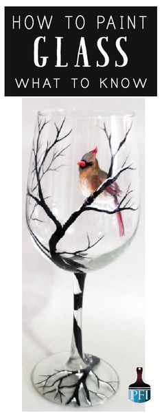 Learn how to paint glass and make it last!