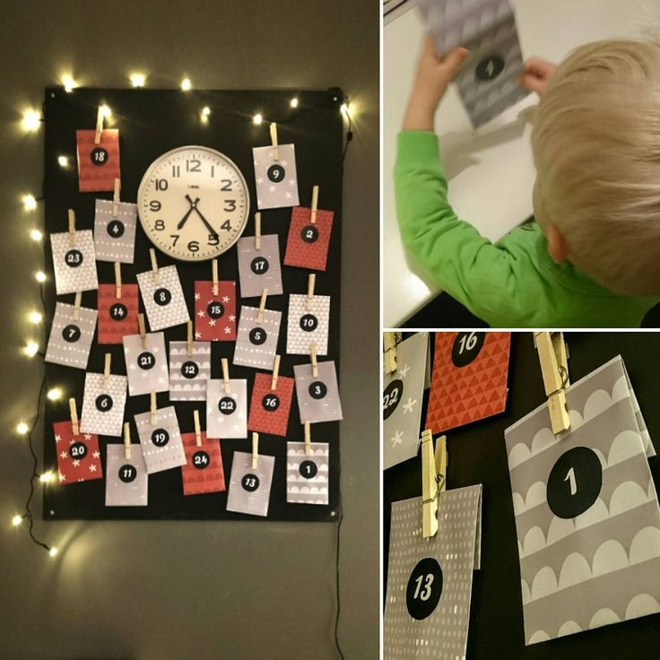 Ensimmäisen joulukalenterin ensimmäinen luukku  #joulukalenteri #historiallinen #hetki #kaksivuotias