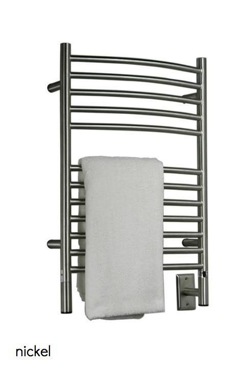 "Amba Jeeves E Curved Hardwired Towel Warmer - 20.5""w x 31""h"