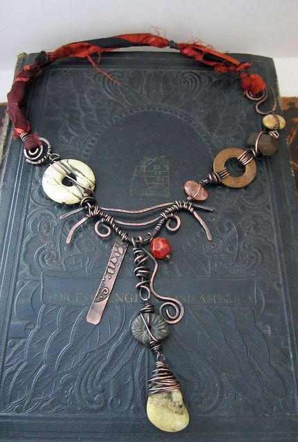 Wire Work Out: Free Form fun by Love My Art Jewelry (blogger/artist)   Flickr - Photo Sharing!