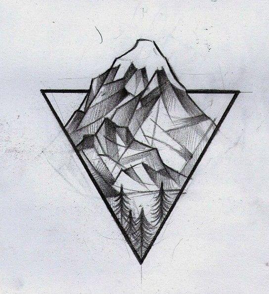 Tattoos mit geometrischen 44 Fotos von tattoos schön mit der Technik der geometrie – Maxi Perl