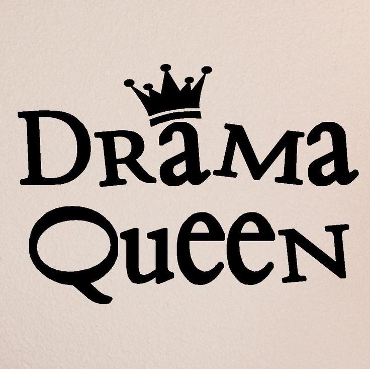 Amazon.com: Drama Queen 10x15 wall sayings vinyl wall quotes vinyl lettering vinyl wall art: Home Improvement