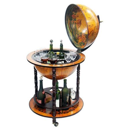 You should see this Italian Globe Bar Cart in Cherry on Daily Sales!