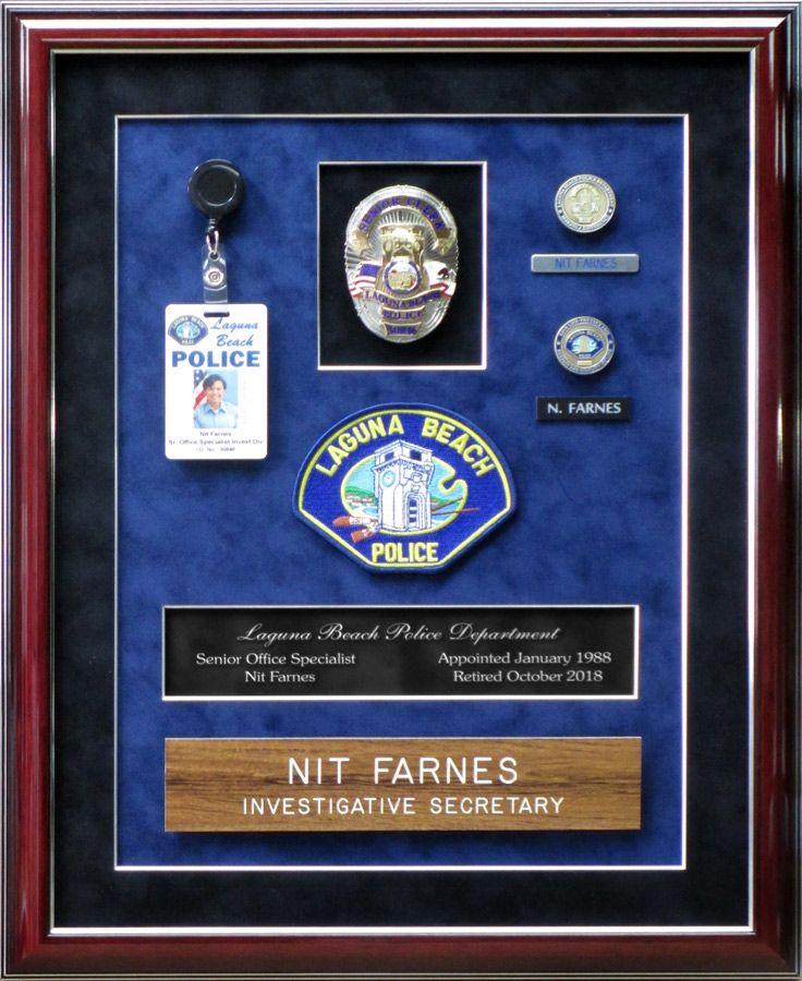 Pin by Badge Frame on Police Standard Frame Presentations