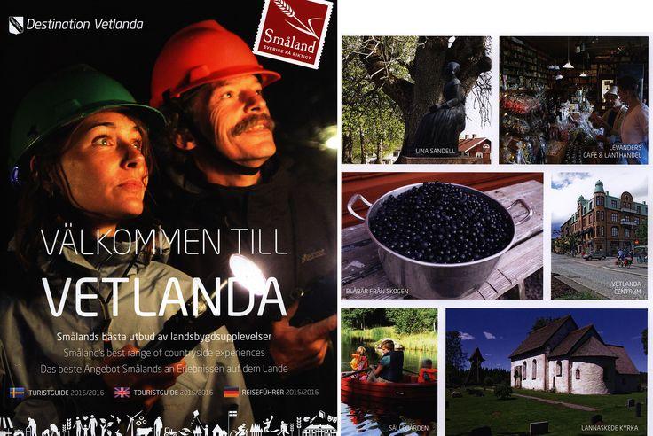 https://flic.kr/p/NK4sQs | Välkommen till Vetlanda!  Turistguide Touristguide Reiseführer 2015-2016; Jönköping county, Sweden