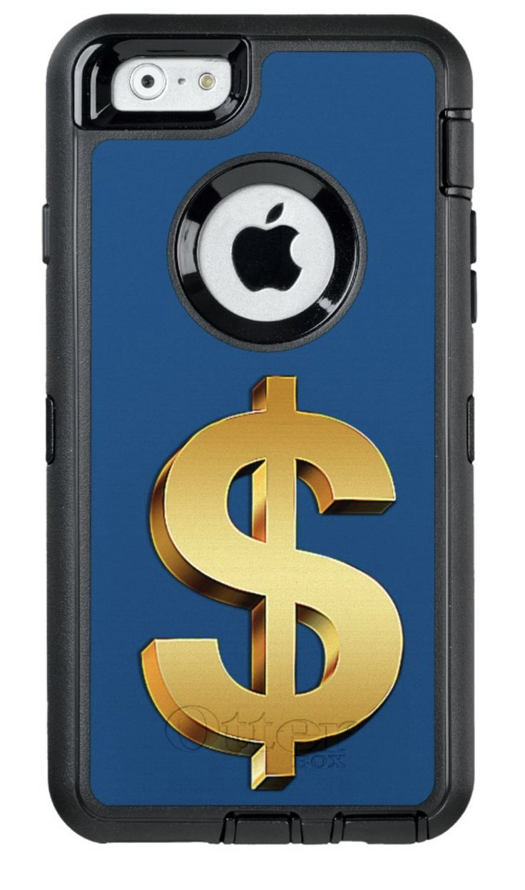 I call this my Golden Dollar Phone Protector.  I feel prosperous every time I go to use my phone. The golden $ logo stares to me and I get a glimpse of the sweet smell of success! The Otter Box Covers have become hugely popular because they do what they are supposed to do - protect it from damage. Your iPhone is a fine investment, for you and your business. And now you have the added bonus to having a 24/7 reminder to think prosperity!
