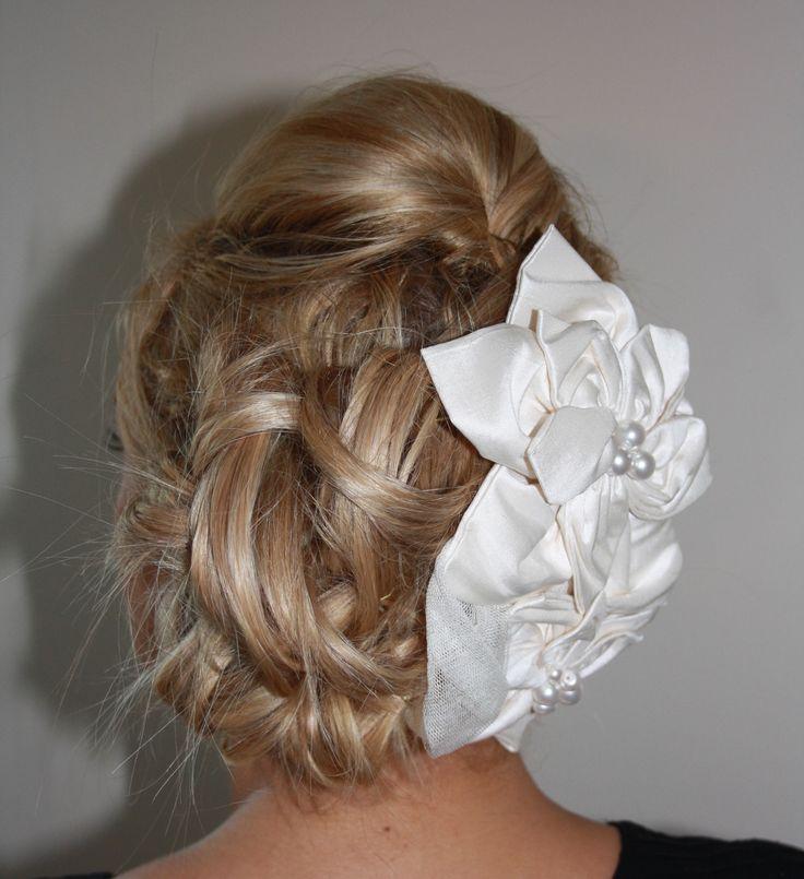 Wedding Hair Up Incorporating A Stunning Bridal Bridesmaid Clip By Www Kukispa