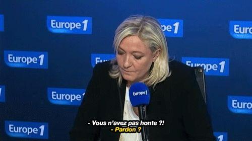 Yaaaaas, drag her, Jean-Pierre Elkabbach!Lien de l'interview