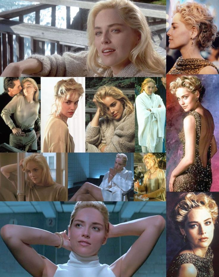 Sharon's Wardrobe in Basic Instinct: neutrals and minimalism