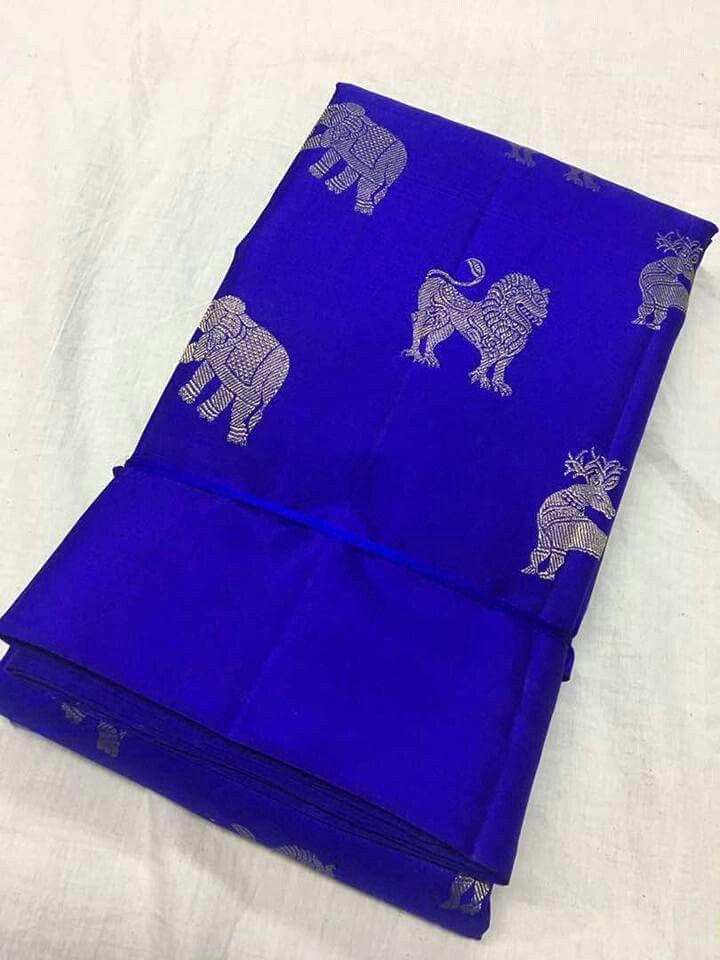 Pure Kanchipuram silk sarees with silk mart Order what's app 7995736811