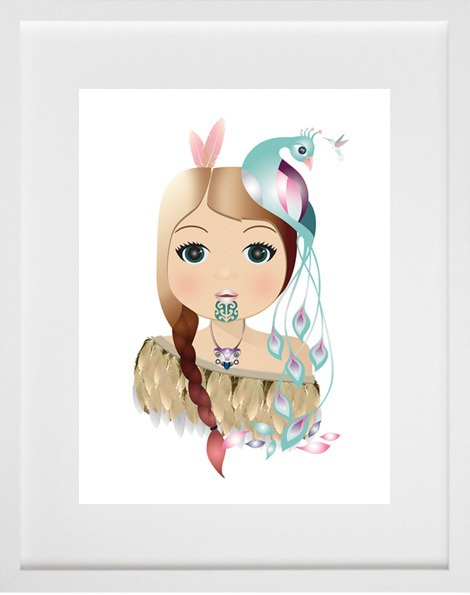 Little Warrior Girl - Ema Frost, a bit of kiwiana