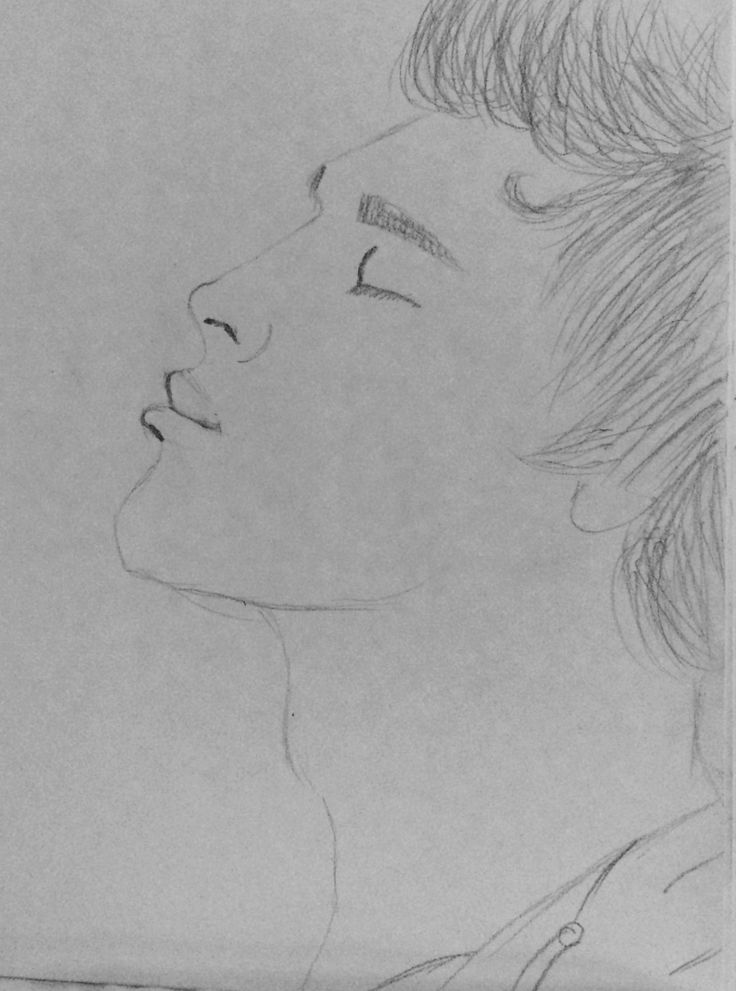 Drew this I'm really liking side pics