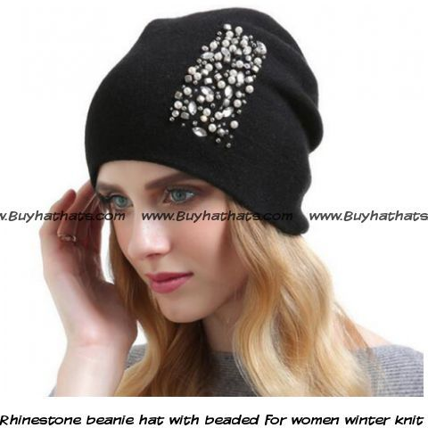 9818d883fca Pin by BUYHATHATS LIMITED on ladies beanie hats for winter
