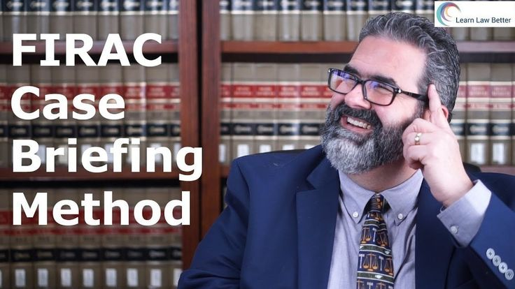 Looking to improve your classroom and exam preparation skills at the same time? The FIRAC method will help you with both tasks, so watch this episode and learn how to use it. Also, by briefing your own cases you will learn the law at a deeper level. For more tips check out https://youtube.com/learnlawbetter    P.S. This is a revised video