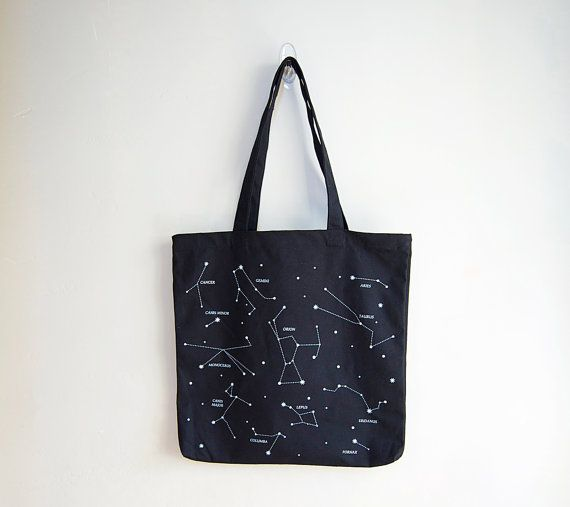 Hey, I found this really awesome Etsy listing at http://www.etsy.com/listing/151720909/constellation-tote-bag