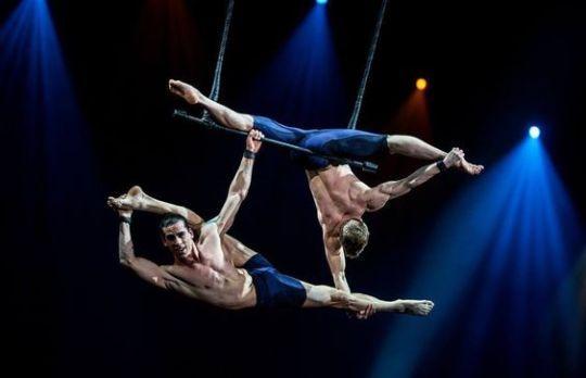 Aerial Yoga: Your Cirque Du Soleil Workout!   Aerial yoga
