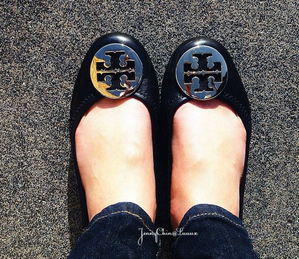 Tory Burch Flats Review @Luuux #ToryBurch #Flats #Shoes #Review  #Luuuxweeklyfashioncomp