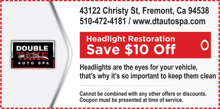 "#DTAutoSpa #SpecialOffers for the month of March !! SAVE $10 when you get ""Headlight Restoration Service"" Visit our website - http://dtautospa.com/ #AutoDetail #AutoDetailFremont #Newark #UnionCity #Milpitas #SanJose #Cupertino #MenloPark #PaloAlto #Hayward #SanLeandro #SanLorenzo #CastroValley #Pleasanton #Livermore #Alameda #FosterCity #SanMateo #RedwoodCity #Campbell #Piedmont #Moraga #Orinda #Dublin #SantaClara #Sunnyvale #MountainView #LosGatos"