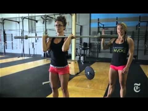 Christmas Abbott teaching Some exercises from CrossFit Invoke
