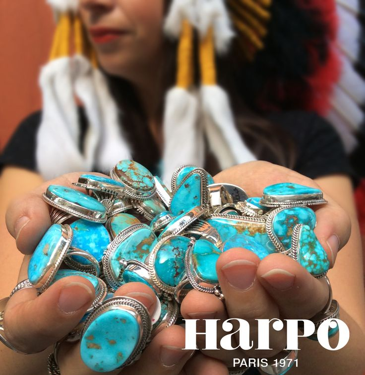 Bagues Turquoise by Harpo Paris © #bagueturquoise #turquoise #collection #harpo