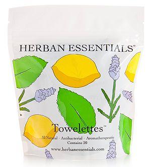 Herban Essentials - Mixed Towelettes - 20 pcs