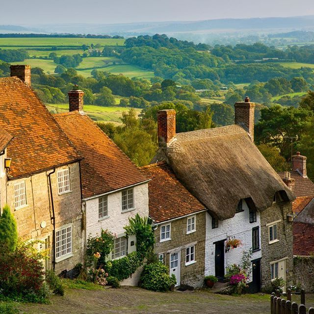 Its A Beautiful Evening In Shaftesbury Dorset Have You Ever Visited