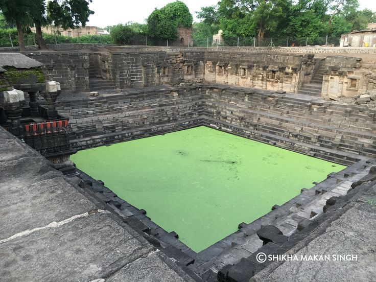 Not many know of this beautiful step well in Lonar, Maharashtra