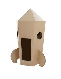 Cohete de cartón. Próximamente a la venta en www.facebook.com/materialrevolution