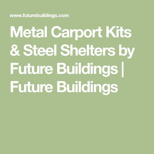 Metal Carport Kits & Steel Shelters by Future Buildings | Future Buildings