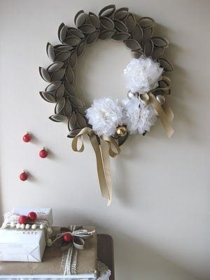 WOW! Ive been using this new weight loss product sponsored by Pinterest! It worked for me and I didnt even change my diet! I lost like 26 pounds,Check out the image to see the website, Toilet Paper Roll Wreath